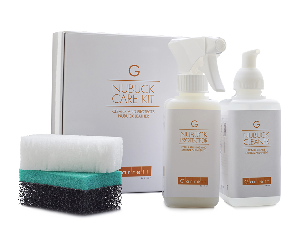 nubuck leather cleaning care products