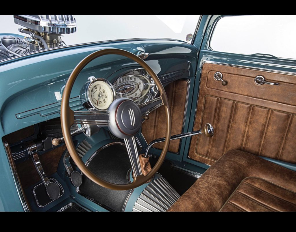 Automotive upholstery in Native Cherokee