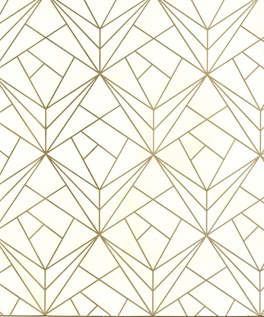Prism pattern on Caressa Vellum