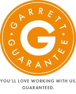 Garrett Guarantee logo