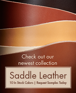 New Saddle Leather Collection